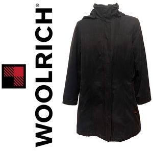 WOOLRICH black winter jacket